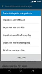 HTC Desire 610 - Contacten en data - Contacten kopiëren van SIM naar toestel - Stap 7