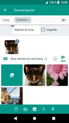 Sony Xperia XZ1 - Mensajería - Escribir y enviar un mensaje multimedia - Paso 17