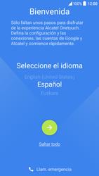 Alcatel Idol 3 - Primeros pasos - Activar el equipo - Paso 3