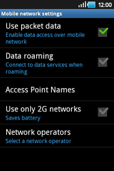Samsung S5830 Galaxy Ace - Network - Usage across the border - Step 6