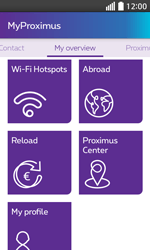 LG L70 - Applications - MyProximus - Step 21