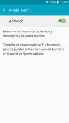 Samsung Galaxy J5 - Funciones básicas - Activar o desactivar el modo avión - Paso 6