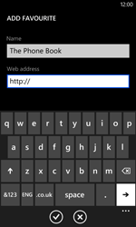 Nokia Lumia 625 - Internet - Internet browsing - Step 11