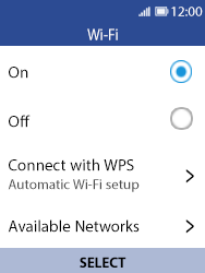 Nokia 8110 Banana - Wi-Fi - Connect to a Wi-Fi network - Step 6