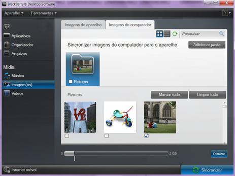 BlackBerry 9620 - Conexão com pc - Como transferir arquivos do computador para seu aparelho - Etapa 9