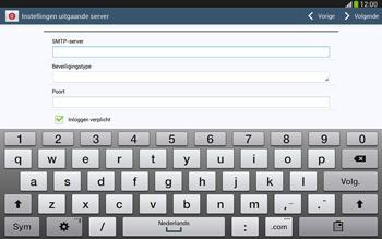 Samsung P5220 Galaxy Tab 3 10-1 LTE - E-mail - Handmatig instellen - Stap 12