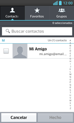 LG Optimus L5 II - E-mail - Escribir y enviar un correo electrónico - Paso 6