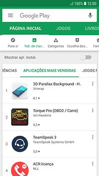Samsung Galaxy S7 Edge - Android Oreo - Aplicações - Como pesquisar e instalar aplicações -  9