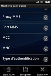 Sony Ericsson Xperia Mini Pro - Internet - configuration manuelle - Étape 11
