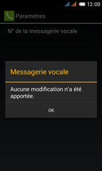 Alcatel OT-4033X Pop C3 - Messagerie vocale - configuration manuelle - Étape 13