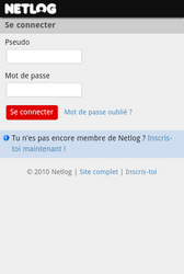Samsung Galaxy S5 mini - Internet - Sites web les plus populaires - Étape 10