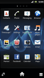 Sony ST25i Xperia U - Network - Usage across the border - Step 3