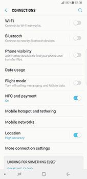 Samsung Galaxy Note 8 - Network - Manually select a network - Step 5