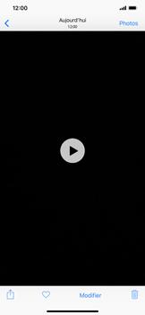 Apple iPhone XS Max - Photos, vidéos, musique - Créer une vidéo - Étape 12