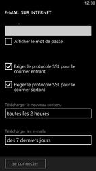 Samsung I8750 Ativ S - E-mail - Configurer l
