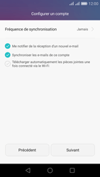 Huawei Honor 5X - E-mail - Configuration manuelle (outlook) - Étape 8