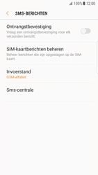 Samsung Galaxy S7 Edge - Android N - SMS - handmatig instellen - Stap 8