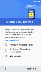 Samsung Galaxy S7 Edge - Android Nougat - Primeiros passos - Como ligar o telemóvel pela primeira vez -  14