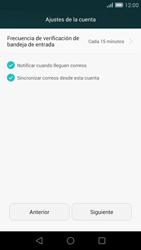 Huawei Ascend G7 - E-mail - Configurar correo electrónico - Paso 18