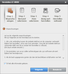 Samsung I8000 Omnia II - Software - Update installeren via PC - Stap 15
