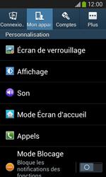 Samsung Galaxy Ace 3 - Sécuriser votre mobile - Activer le code de verrouillage - Étape 5