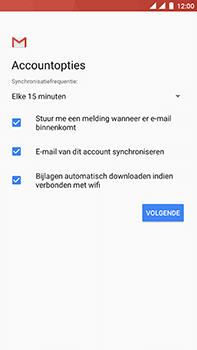 OnePlus 3 - Android Nougat - E-mail - handmatig instellen (yahoo) - Stap 11
