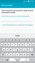 Samsung A500FU Galaxy A5 - E-mail - Manual configuration (yahoo) - Step 9