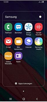 Samsung Galaxy A40 - MMS - afbeeldingen verzenden - Stap 3