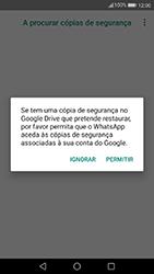 Huawei P10 Lite - Aplicações - Como configurar o WhatsApp -  13