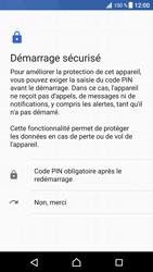 Sony Xperia XZ Premium - Sécuriser votre mobile - Activer le code de verrouillage - Étape 7