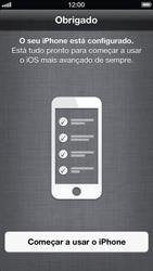 Apple iPhone iOS 6 - Primeiros passos - Como ativar seu aparelho - Etapa 16