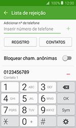 Samsung Galaxy J1 - Chamadas - Como bloquear chamadas de um número específico - Etapa 12
