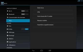 Acer Iconia Tab A3 - Internet - Activer ou désactiver - Étape 5