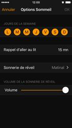 Apple iPhone SE - iOS 10 - iOS features - Coucher - Étape 12