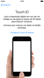 Apple iPhone 6 iOS 9 - Primeiros passos - Como ligar o telemóvel pela primeira vez -  13