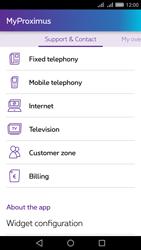 Huawei Y6 II - Applications - MyProximus - Step 20