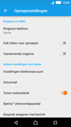 Sony E2303 Xperia M4 Aqua - Voicemail - Handmatig instellen - Stap 5