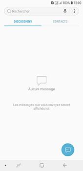 Samsung Galaxy J6 - Contact, Appels, SMS/MMS - Envoyer un SMS - Étape 4