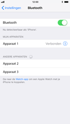Apple iPhone 6 - iOS 11 - Bluetooth - koppelen met ander apparaat - Stap 8
