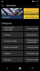 Microsoft Lumia 550 - Aplicações - Como pesquisar e instalar aplicações -  11