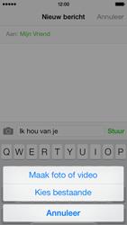 Apple iPhone 5c - MMS - hoe te versturen - Stap 8