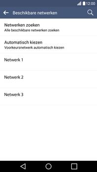 LG V10 - Netwerk - Handmatig netwerk selecteren - Stap 12