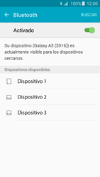 Samsung Galaxy A3 (2016) - Bluetooth - Conectar dispositivos a través de Bluetooth - Paso 6