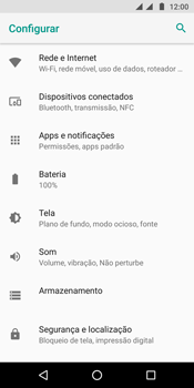 Motorola Moto G6 Plus - Wi-Fi - Como configurar uma rede wi fi - Etapa 4