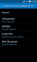 Samsung Galaxy Ace 4 - Sécuriser votre mobile - Activer le code de verrouillage - Étape 6