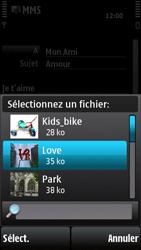 Nokia X6-00 - MMS - envoi d'images - Étape 12