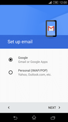 Sony D5803 Xperia Z3 Compact - E-mail - Manual configuration (gmail) - Step 8