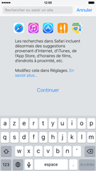 Apple iPhone 6 iOS 9 - Internet - navigation sur Internet - Étape 3