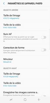 Samsung Galaxy S8 - Photos, vidéos, musique - Créer une vidéo - Étape 11