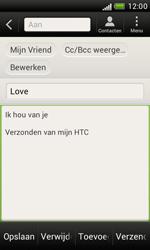 HTC T328e Desire X - E-mail - hoe te versturen - Stap 9